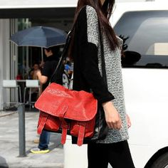 Two-Tone Satchel from #YesStyle <3 SO Central YesStyle.com