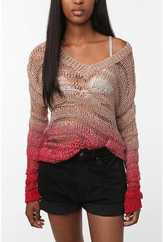 Ombre summer sweater? Genius!
