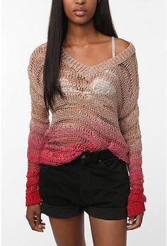Ombre summer sweater? Genius!