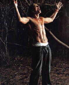Eminem! Look at his abs!