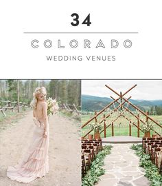 Looking for an event or wedding venue in Colorado? Here are 34 unique event spaces to check out! Photo Credit: Laura Murray Photography