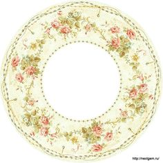 Round floral frames for decoupage. - 14 (700x700, 303Kb)