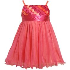 Size-4T BNJ-4336B FUCHSIA-PINK SCALLOP DIE CUT MESH OVERLAY Special Occasion Wedding Flower Girl Party Dress B24336 Bonnie Jean TODDLERSFrom #Bonnie Jean List Price: $63.00Price: $44.10 Availability: Usually ships in 1-2 business daysShips From #and sold by iPovePou Boutique