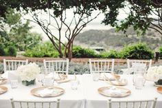 Gold and white reception table decor | photography by http://www.jnicholsphoto.com/