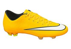 Nike Kids Mercurial Vapor X FG Soccer Cleats - Laser Orange