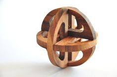 Sphere Wooden Puzzle game  Wooden toys  by siamcollection on Etsy, $13.95