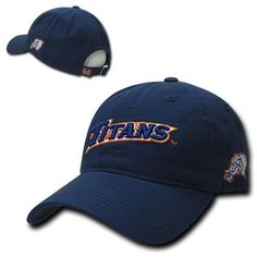 Cal state fullerton #titans #university #cotton polo style ncaa baseball cap hat,  View more on the LINK: 	http://www.zeppy.io/product/gb/2/272261525985/