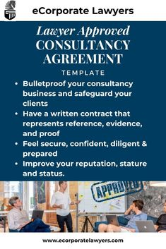 Consultancy Agreement - E-Corporate Lawyers Business Marketing, Online Marketing, Online Business, Digital Marketing, Make You Feel, How Are You Feeling, Law Books, Diligence, Check It Out