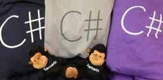 Xamarin monkeys rocking some swag. Photo by Craig Dunn, https://twitter.com/conceptdev