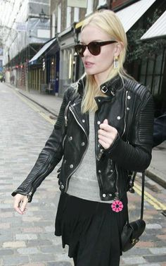 BURBERRY BLACK WASHED LEATHER BIKER JACKETS WOMEN   Aaberrry Women Online Fashion Clothes & Accessories