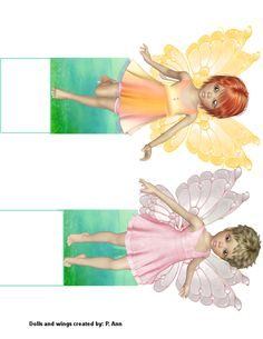 Paper Crafts – Playsets and Tales From The Majestic Red Oak Forest - The Fairies