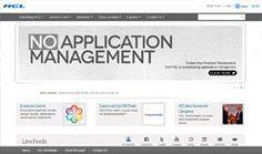 HCL Tech Corporate Website using Drupal