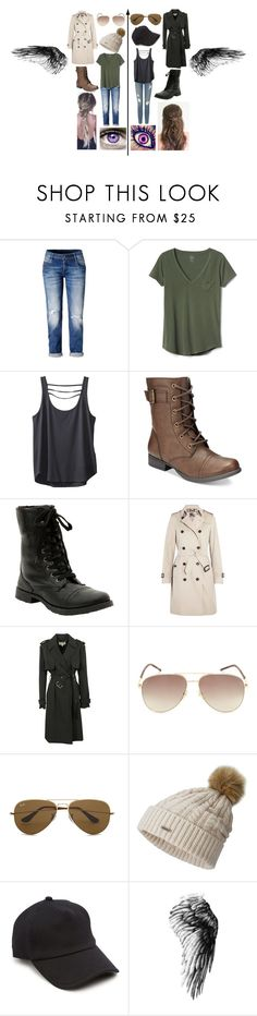 """Meeting Charles Xavier (recruitment)"" by frootloop16 ❤ liked on Polyvore featuring Gap, Frame, Kavu, American Rag Cie, Hot Topic, Burberry, Michael Kors, Marc Jacobs, Ray-Ban and SOREL"