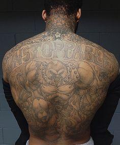 Wilson Chandler Juggernaut Tattoo