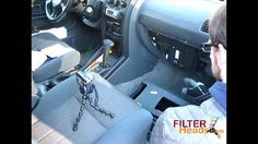 Cabin air filter replacement - Nissan Frontier