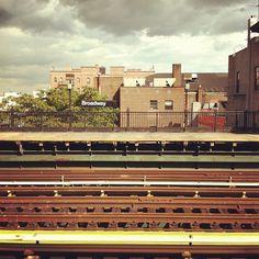 """@thequeenskickshaw's photo: """"Broadway Stn."""""""