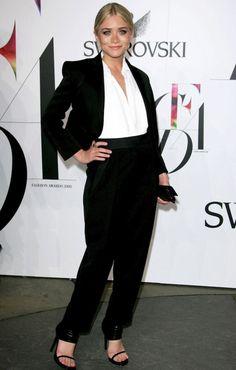 Ashley | Sleek In Tuxedo + Heels