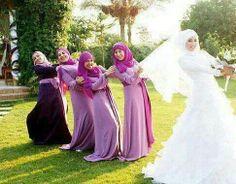 Bridesmaid tug of war :)