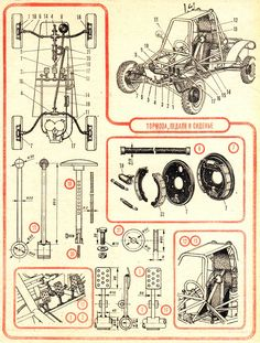 Encyclopedia of Technology Build A Go Kart, Diy Go Kart, Triumph Motorcycles, Cars And Motorcycles, Carros Turbo, E Quad, Kart Cross, Soap Box Cars, Go Kart Chassis