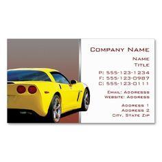 Automotive detailing business cards pinterest business cards and corvette backside business cards auto body repair shopsbusiness colourmoves