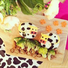 Cute Cows for Lunch
