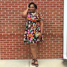 Dress Up, High Neck Dress, Girl Blog, Pretty Dresses, Plus Size Dresses, Plus Size Fashion, Short Sleeve Dresses, Big, Lady