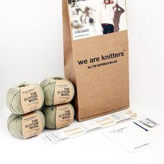 HANK & HOOK // We Are Knitters Galathea Tee Knit Kit
