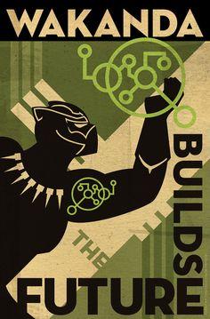 Wakanda Science Poster 2018-3 by PaulSizer.deviantart.com on @DeviantArt