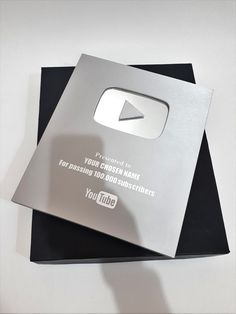 Presented to Landa the YODA for 100,00 subscribers in 6 months.  I am so happy and grateful to be blessed that I received my 100 000 subscriber plaque, it makes me soo happy knowing that I am now a social influencer full time, my channel continues to  grow and blow up, I am working with brands and I am now living solely of my brand and my YouTube channel and Instagram is what is providing for me solely, I am thankful for my subscribers that they genuinely care support me and they're worldwide Youtube News, Youtube Logo, Free Youtube, You Youtube, Trophy Design, Goal Board, Future Jobs, Youtube Subscribers, Dream Life