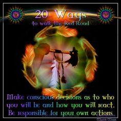 Make conscious decisions.