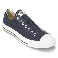 Adult Converse All Star Laceless Sneakers, Size: M11W13, Blue