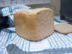 I tried spelt bread for the first time in bread maker and was happy to find out it actually tastes like normal bread!