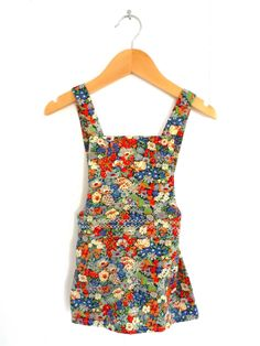 Liberty Print 'Thorpe' Pinafore Dress