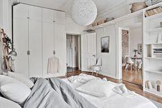 Scandinavian bedrooms ideas - chambre : décoration esprit scandinave