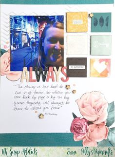 UK Scrap Addicts: Always | Polly's Papercrafts | Journalling