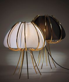 Fun and stylish. Check out these wonderful lamps by CreativeMary  #designerlighting never ceases to impress