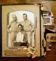 Military/Heritage scrapbooking