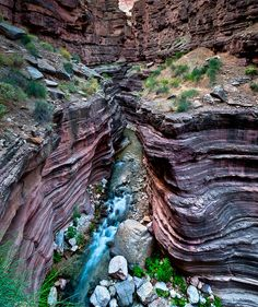 Deer Creek Canyon in Grand Canyon National Park, Arizona