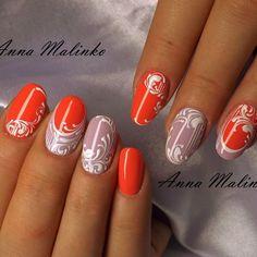 #аннамалинко #nails #nailstagram #anna_malinko #ногтики #ногтидизайн #любимаяработа #гельлак #гель #ногти #красивыеручк