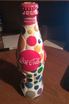 Coca Cola Limited Edition Bottle - McDonald's Worldwide Convention 2006