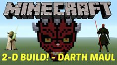 4. Learn how to make Darth Maul in MINECRAFT! Click on the image to see the video :D