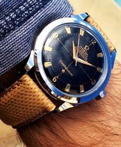 Watches Ideas Stunning Vintage OMEGA Constellation Piepan Discovred by : Todd Snyder Men's Watches, Cool Watches, Watches For Men, Diamond Watches, Vintage Omega, Stylish Watches, Luxury Watches, Rolex, Der Gentleman
