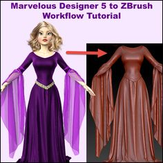 Free Marvelous Designer 5 to ZBrush Workflow Tutorial. Best Export Settings for Marvelous Designer Clothes Garments. Avoid a Broken Mesh or Other Issues.