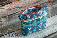 Ordnungshelfer Taschenspieler 2 Designbeispiel von Frühstück bei Emma - Stoff: Mosca - Design Lila Lotta
