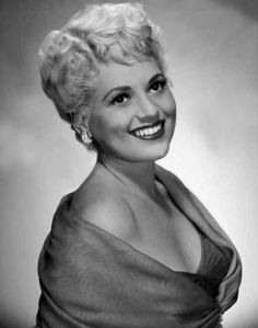 """Judy Holliday ,actress best known for her Oscar winning role in the film """"Born Yesterday"""". She died on June 7, 1965 from breast cancer at the age of 42."""