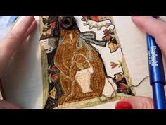 Instructional Tutorial for Punch Needle Embroidery - YouTube (very good tutorial)