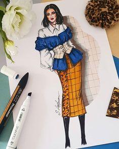 By Sveta Leyfman Dress Design Sketches, Fashion Design Sketchbook, Fashion Design Portfolio, Fashion Design Drawings, Fashion Sketches, Art Portfolio, Art Sketchbook, Drawing Sketches, Art Drawings