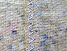ZIGZAG before washing!!!!!! One of the easiest ways to finish the edges of the seam allowance inside your project is with the humble zigzag stitch. Learn how here!