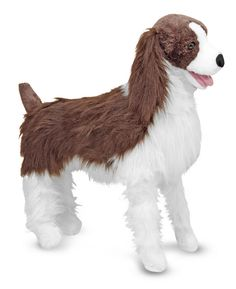 With its smooth face and white-stocking feet, this English Springer spaniel, sports the rough coat of its distinctive breed. Excellent quality construction and careful attention to lifelike details guarantee that this spaniel will stand out in the crowd!