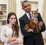 Meme Trifecta!!!  Smirking POTUS + Russian Stoned Fox + Smirking US Olympian